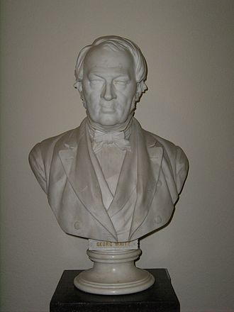 Georg Waitz - Bust of Georg Waitz.