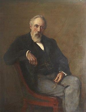 George Allen (publisher) - George Allen, 1890 portrait by Frederic Yates