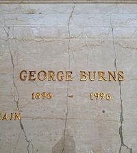 George Burns Grave.JPG