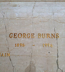 George Burns Grave.JPG