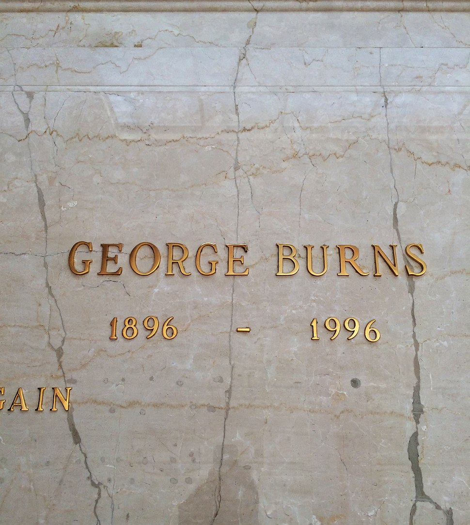 George Burns Grave