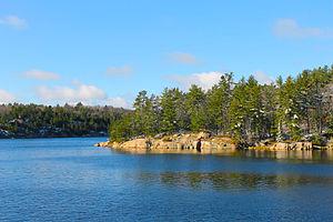 Killarney Provincial Park - Early November at George Lake, Killarney Provincial Park