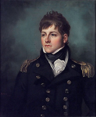 Mather Brown - Portrait of George Miller Bligh by Mather Brown