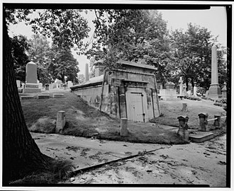 Mount Pleasant Cemetery (Newark, New Jersey) - Tomb of George Opdyke within the Mount Pleasant Cemetery