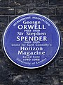 George Orwell and Sir Stephen Spender (Marchmont Association).jpg
