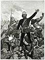 George Pomeroy Colley a Majuba-hegyi csatában.jpg