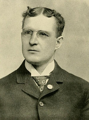 George W. Hoskins - Hoskins pictured in L'Agenda 1905, Bucknell yearbook