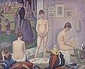 Georges Seurat - Models (Poseuses) - BF811 - Barnes Foundation.jpg