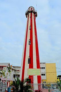 Georgetown Lighthouse, Guyana lighthouse in Guyana