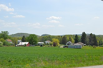 East Mahoning Township, Indiana County, Pennsylvania - Overview of Georgeville