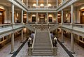 Georgia State Capitol, South Atrium and Staircase, Atlanta 20160718 1.jpg