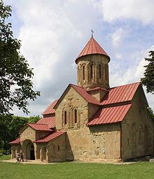 La iglesia principal del complejo de Betania