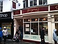 Georginas Cafe, on Low Petergate (geograph 4219094).jpg