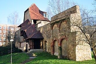 Gera - Medieval city wall
