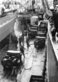German cargo ship Bernhard Howaldt during unloading of American jeeps, Beirut in january 1958.png
