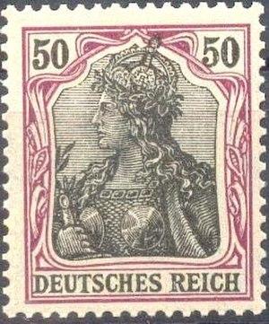 Anna Führing - Germania stamp