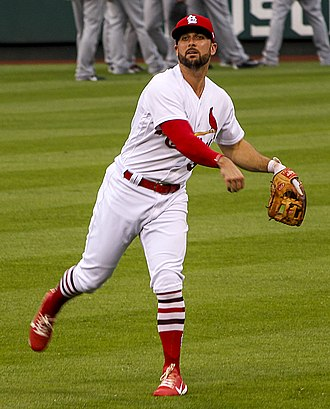 Greg Garcia (baseball) - Garcia with the Cardinals in 2017