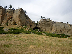 Pictograph Cave (Billings, Montana) - Ghost cave
