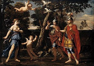 Giacinto Gimignani - Venus appears to Aeneas and Achates