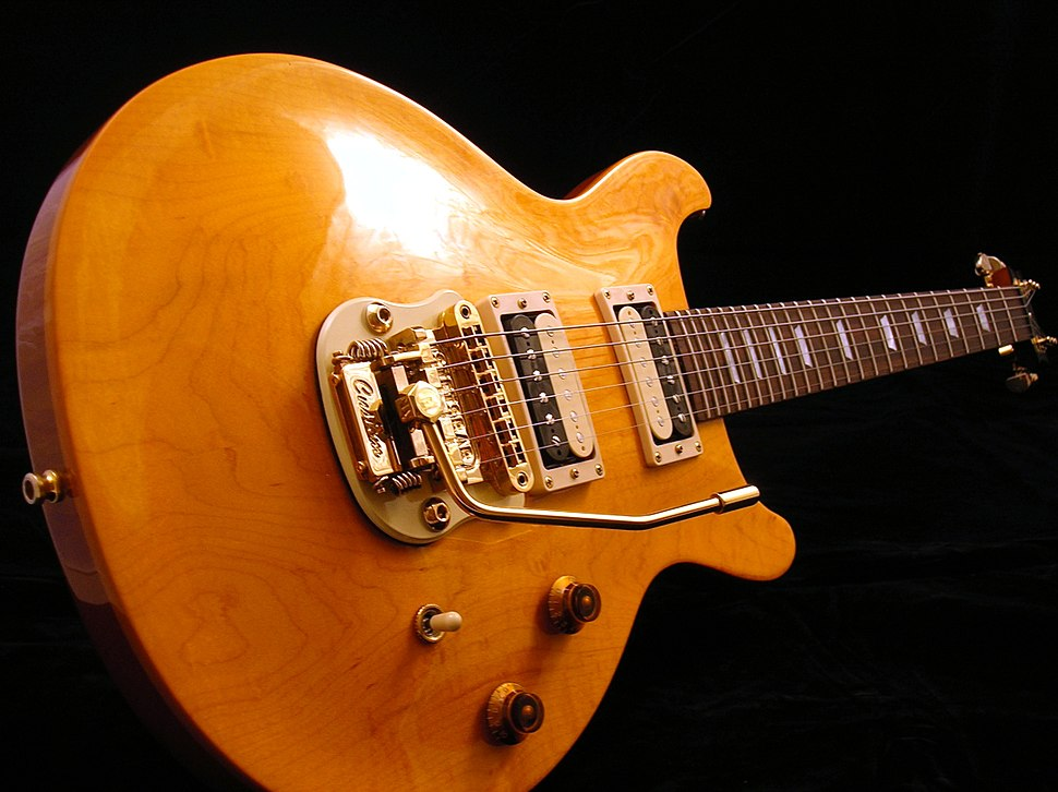 Gibson Les Paul DC with Gold Stetsbar