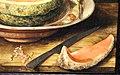 Giovanna garzoni, natura morta con popone su ub piatto, uva e una chiocciola, 1642-51 ca. 05.JPG