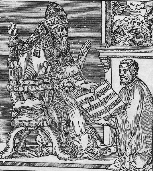 Giovanni Palestrina and Pope Julius III