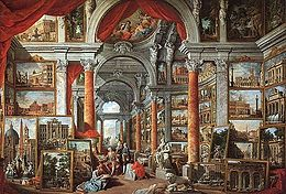 Giovanni Paolo Pannini - Picture Gallery with Views of Modern Rome - WGA16969.jpg