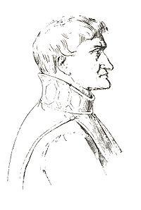Riproduzione del profilo presente nel Duomo di Salerno di Giovanni da Procida