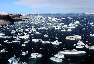 Cape York (Greenland) - Image: Glaciers and Icebergs at Cape York