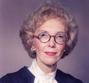 Gladys Kessler - Image: Gladys Kessler