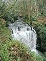 Glynhir Waterfall from above - geograph.org.uk - 301248.jpg