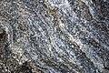 Gneiss (Precambrian; Harriman Reservoir roadcut, Route 9, southern Vermont, USA) 11.jpg