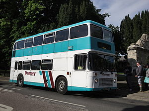 Damory Coaches - Eastern Coach Works bodied Bristol VRT at the Isle of Wight Festival in June 2010