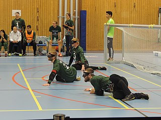 Lithuania mens national goalball team Lithuanian national team, for the Paralympic sport of goalball
