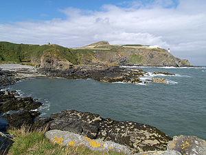 Maughold Head - Image: Gob ny Port Mooar. Isle of Man. geograph.org.uk 44556
