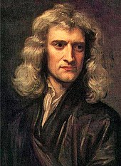 A formal portrait of a man, with long hair