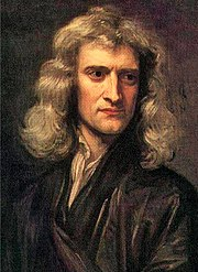 Sir Isaac Newton (1643-1727), an inventor of infinitesimal calculus.