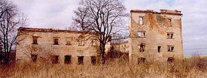 Gola Dzierżoniowska Castle - Image: Gola Castle Etat Initial