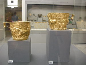 Vaphio - The Bronze Age gold Vaphio cups