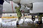Golden Eagles enact corrosion preventative maintenance plan 160118-N-MV308-042.jpg