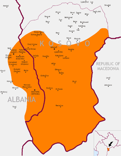 Gora region wikipedia gora region between kosovo and albaniag publicscrutiny Choice Image