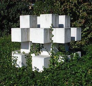 Ewerdt Hilgemann - Image: Gorinchem kunstwerk kubusstructuur