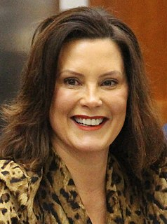 Gretchen Whitmer 49th governor of Michigan