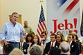 Governor of Florida Jeb Bush at TurboCam, Barrington, New Hampshire on August 23th by Michael Vadon.jpg