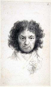 Goya's self-portrait