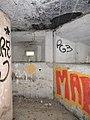 Graffiti in the pillbox - geograph.org.uk - 1753583.jpg
