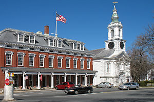 Grafton, Massachusetts - Grafton center in 2006