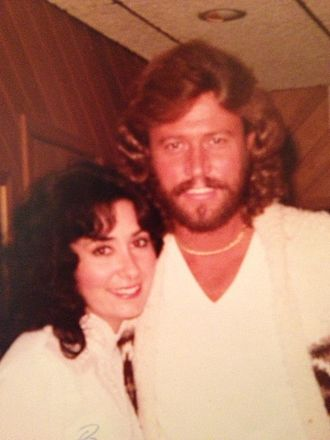 April Byron - April Byron and Barry Gibb