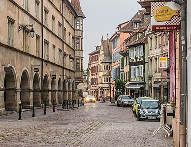 Grand'Rue in Colmar, Haut-Rhin, France
