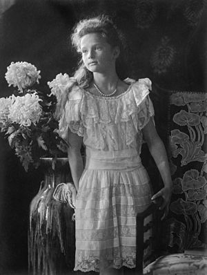 Grand Duchess Tatiana Nikolaevna of Russia - Grand Duchess Tatiana Nikolaevna in a formal portrait taken in 1906